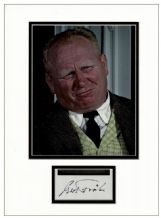 Gert Frobe Autograph Signed - Goldfinger
